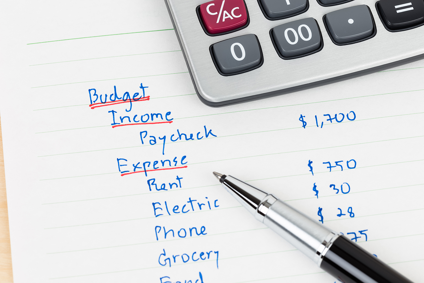 3 Steps To Create A Yearly Budget