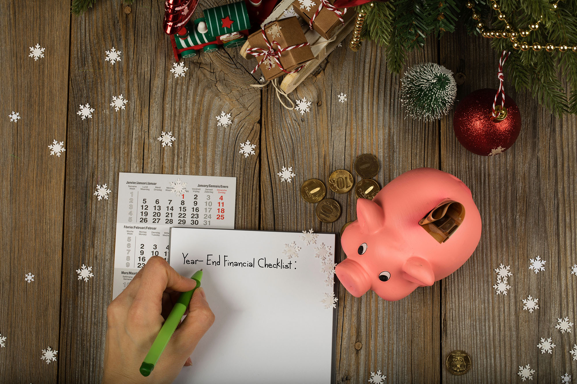 Check Your Finances With A Year-End Review