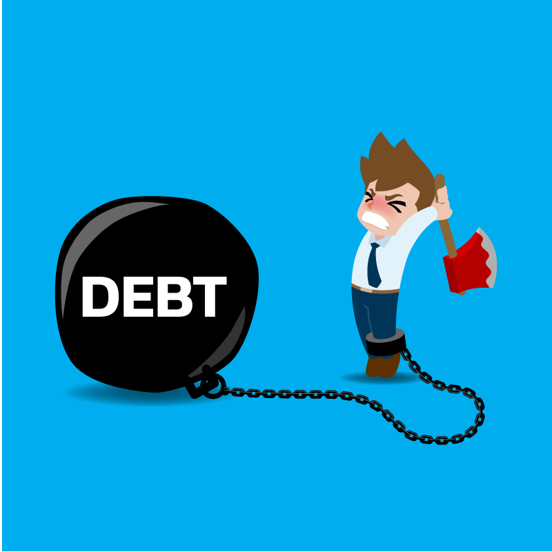Resolution #6 – Take Control Of Debt